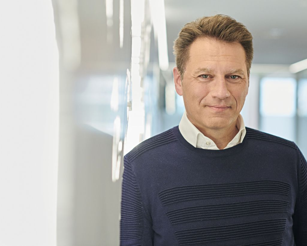 Klaus Engberding, CEO of EOS Group.